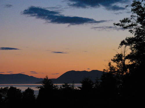 Samish sunset