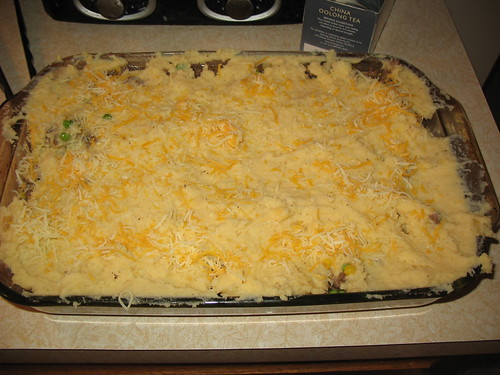 Cheese sprinkles.  Best on casseroles, not ice cream...