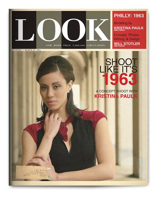 Design Project: LOOK Magazine Spread - Cover