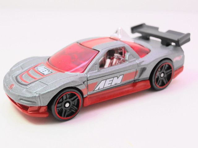 hot wheels acura nsx grey (2)
