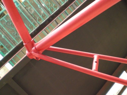 DIY: Repaint Your Fixie Frame #9