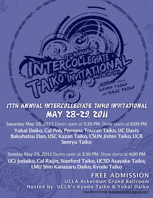 17th Annual Intercollegiate Taiko Invitational
