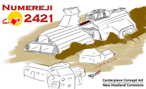 Numereji 2421 - concept art