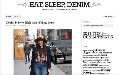 PRESS: Eat, Sleep, Denim Street Style #1