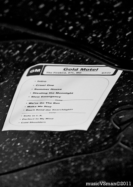 Gold Motel @ The Firebird - 04.07.11