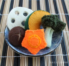 Felt food Japanese nimono
