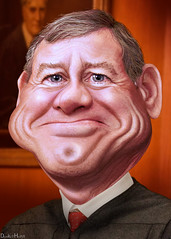 John Roberts - Caricature