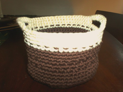 Cotton Mini-Basket Empty