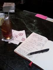 Iced Tea and Writing