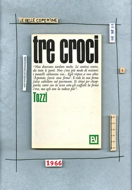 Federigo Tozzi, Tre croci. Vallecchi 1966. copertina