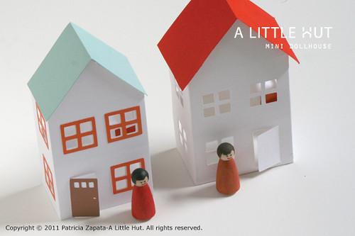 day 25 - mini dollhouses
