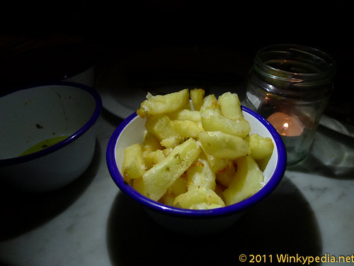 Chunky chips at the Bonnie & Wild