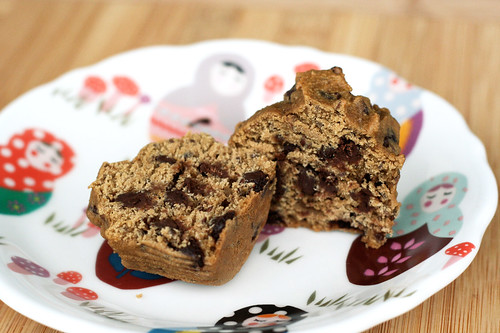 Gluten-Free Chocolate Chip Flax-Seed Muffins
