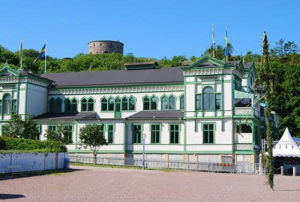Casas de madera en Marstrand