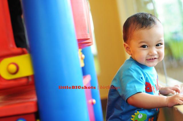 Arif Zayd is ONE! | Birthday Party Photographer Malaysia