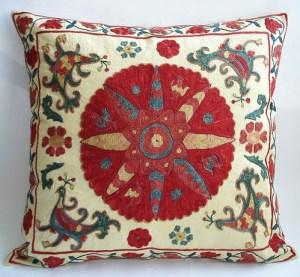 vintage suzani pillow cover sukan
