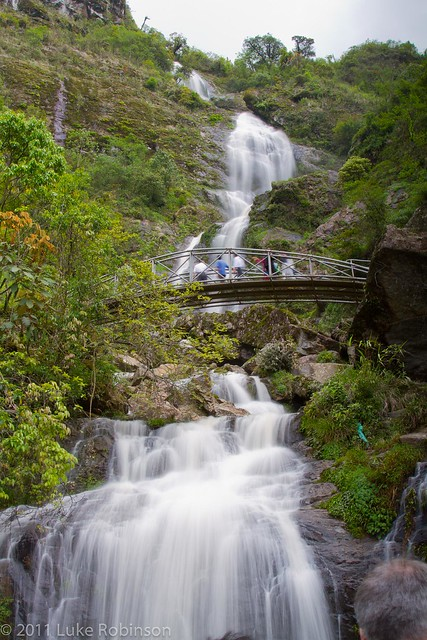 Thac Bac (Silver Waterfall), near Sapa
