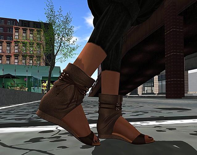 Slink Roman Sandals <3