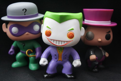 Riddler, Joker and Penguin