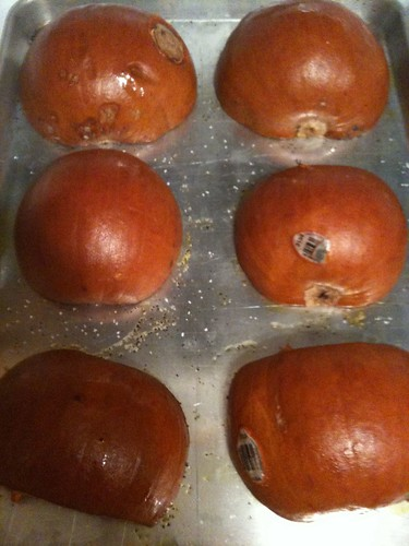 Pumpkins Pre-Roasting