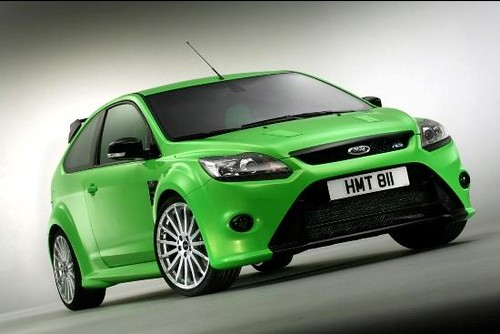 Ford Focus RS: Version deportiva del clasico Ford Focus