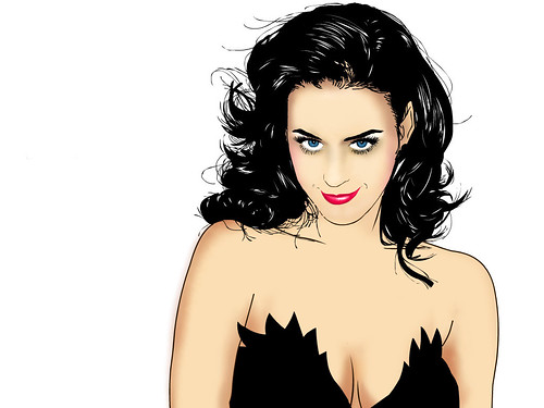 katy perry pixel tinta