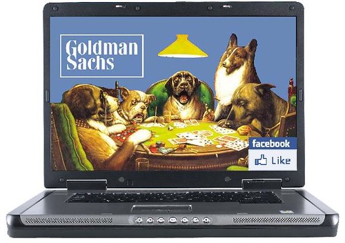 Goldman Gambles on -- and With -- Facebook
