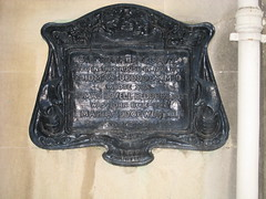 Sir Humphry Davy plaque