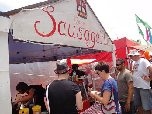 Dulwich Hill Street Fair: German Sausage Hut