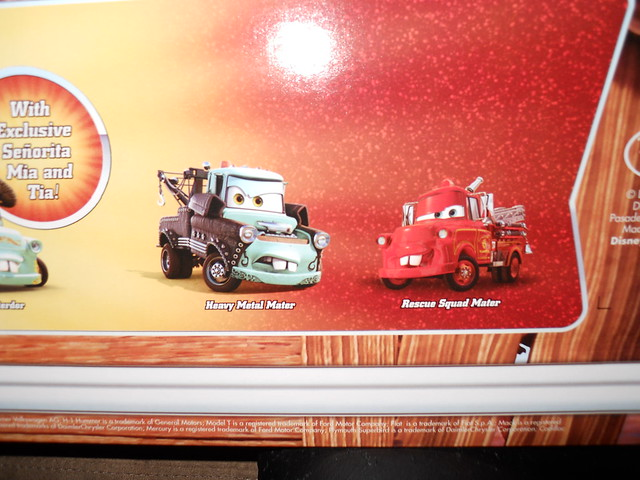 Disney Store CARS TOON 20 Car Set (12)