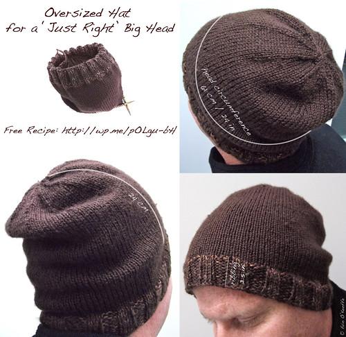 Anatomy of a Big Hat for a Big Head