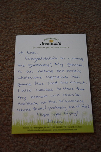 note from Jessica