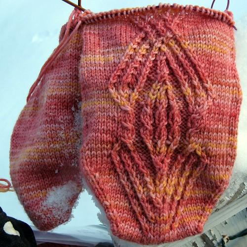 1364 mystery sock (clue 2)