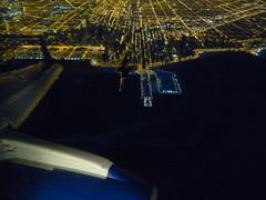 Descending over Chicago