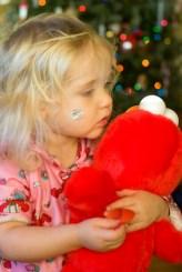 Ellie at Christmas