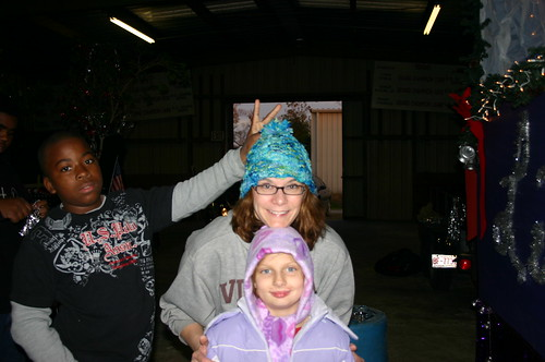 Relay for Life - Christmas Parade - Jacal, Vicky, Malena