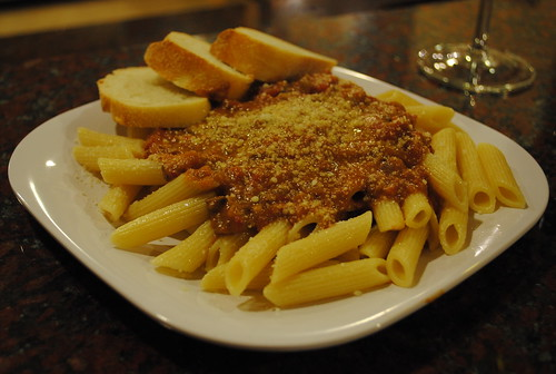 Hearty Pasta Sauce with Penne