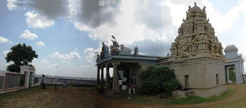 Outer Praharam and Inner Entrance