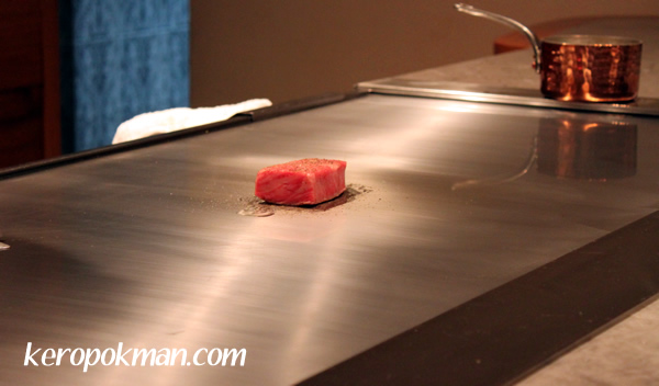 Japanese Wagyu Steak from Kagoshima Prefecture with Wasabi