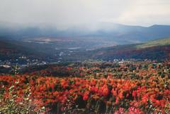 October foliage near North Adams, MA