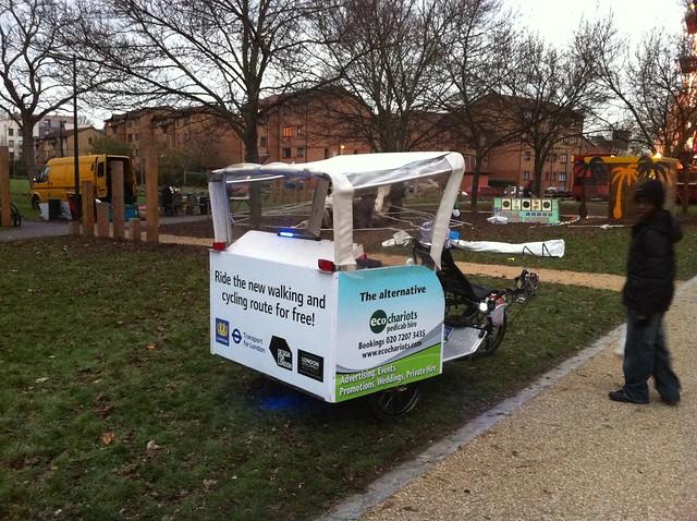 Deptford rickshaw