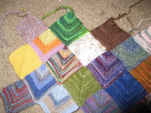 Yarn from swap partner