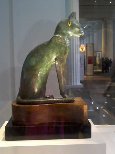 Gayer-Anderson cat in the British Museum