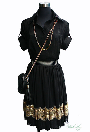 DF05 Black Skirt w Gold Lace front copy