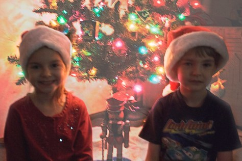 Kids and the Tree