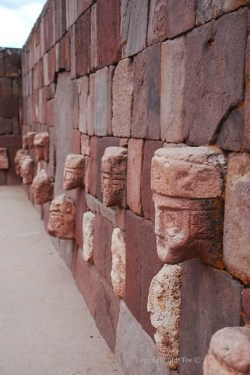 Tiwanaku stone faces