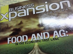Business Xpansion Journal says food and ag are...