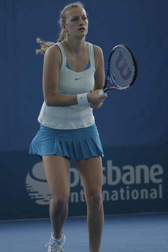 Petra Kvitova at Brisbane International 2011