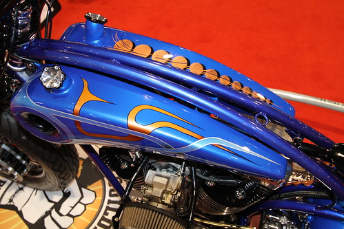 "Gary Maurer ""No Reservation"" Bike @ 2011 Ultimate Builder in Detroit"