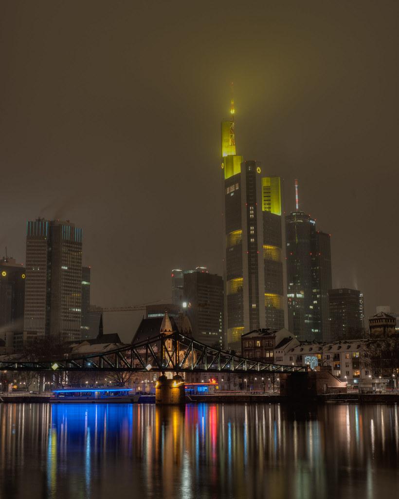 Foggy Frankfurt
